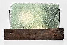 Soft Spot by Mira Woodworth (Art Glass Sculpture)
