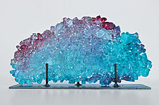 Dreamscape 75 by Mira Woodworth (Art Glass Sculpture)