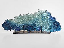 Dreamscape 84 by Mira Woodworth (Art Glass Sculpture)