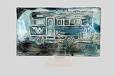 Winnie by Mira Woodworth (Art Glass Sculpture)