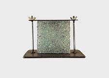 Under Pressure by Mira Woodworth (Art Glass Sculpture)