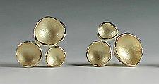 Mini Tri-Pod Earrings by Sarah Richardson (Silver Earrings)
