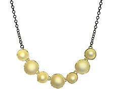 Seven Dishy Necklace by Sarah Richardson (Gold & Silver Necklace)