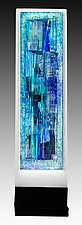 Indigo by Alicia Kelemen (Art Glass Sculpture)