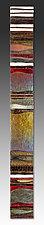 Mosaic Gold Carpet by Alicia Kelemen (Art Glass Wall Sculpture)