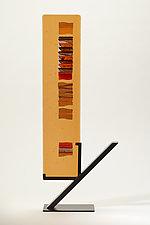 Caramel Carpet I by Alicia Kelemen (Art Glass Sculpture)