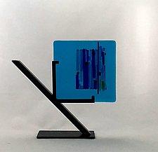 Azure Marina I by Alicia Kelemen (Art Glass Sculpture)