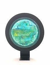 Mystic Sea by Alicia Kelemen (Art Glass Sculpture)