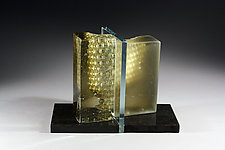 Divide by William Zweifel (Art Glass Sculpture)