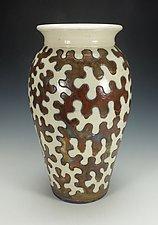 Raku Puzzle Vessel II by Lance Timco (Ceramic Vessel)