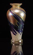 Flower Bud - Athena by Corey Silverman (Art Glass Vase)