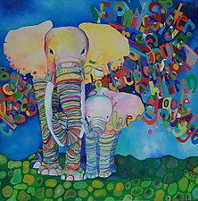 Love, Etcetera by Melissa Leaym-Fernandez (Oil Painting)