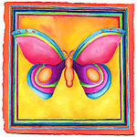 Butterfly No. 2 by Rachel Tribble (Giclee Print)