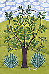 The Elm Heart Tree by Jane Troup (Giclee Print)