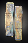 Propelling Forward by Janine Sopp (Ceramic Wall Sculpture)