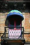 Limon Balcony by Katherine Morgan (Color Photograph)