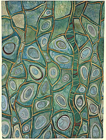 Roots of Rhythm VI by Karen Kamenetzky (Fiber Wall Hanging) | Artful ...