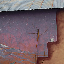LasVegasNM by John Boak (Color Photograph on Aluminum)