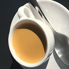 Espresso by John Boak (Color Photograph on Aluminum)