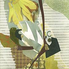 New Beginnings II by Susan Adame (Mixed-Media Painting)