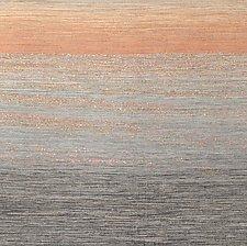 Sunset 1 by Sherry Schreiber (Fiber Wall Hanging)