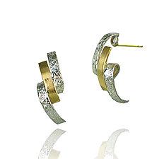 Loop Earrings by Keiko Mita (Gold & Silver Earrings)