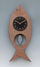 Wanda Pendulum Clock by Leonie  Lacouette (Wood Clock)