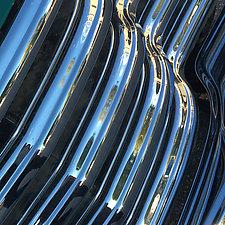 Chevy Trunk Balcony Triptych by John Boak (Photograph on Aluminum)