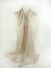 Zebra Scarf by Yuh Okano (Silk Scarf)