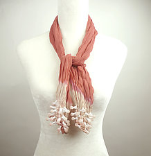 Small Epidermis Ocean Scarf by Yuh Okano (Woven scarf)