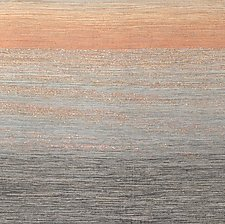 Sunset 1 by Sherry Schreiber (Fiber Wall Hanging)