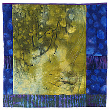 Life Goes On II by Karen Kamenetzky (Fiber Wall Hanging)