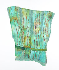 Tunic II by Sharron Parker (Fiber Wall Hanging)