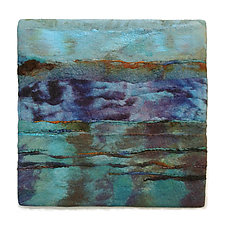 Light on the Water III by Sharron Parker (Fiber Wall Hanging)