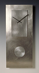 Steel on Steel 24 Pendulum Clock by Leonie  Lacouette (Metal Clock)