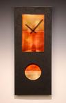 Black Pendulum Clock by Leonie  Lacouette (Metal & Wood Clock)