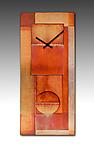 All-Copper Pendulum Clock by Leonie  Lacouette (Metal & Wood Clock)