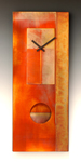 All-Copper Pendulum Clock by Leonie  Lacouette (Metal & Wood Clock)