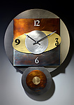 Orbit Pendulum Clock by Leonie  Lacouette (Metal Clock)