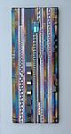 Vineyard Purple Wall Panel by Mark Ditzler (Art Glass Wall Sculpture)