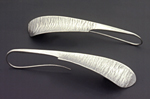 Feather Earrings by Stephen LeBlanc (Silver Earrings)
