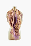 Bright Silk Chiffon Truffle Scarves by Yuh  Okano (Silk Scarf)