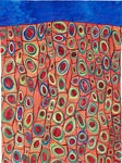 Roots of Rhythm III by Karen Kamenetzky (Fiber Wall Hanging)