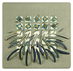 Earth Series No. 10 by Laurie dill-Kocher (Fiber Wall Hanging)