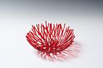 Red Nest by Heather Palmer (Art Glass Sculpture)