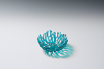 Aqua Nest by Heather Palmer (Art Glass Sculpture)