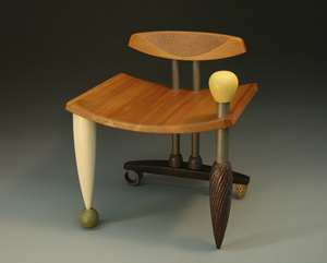 Illusions of Grandeur: Derek Secor Davis: Wood Chair - Artful Home :  grandeur home furniture wood