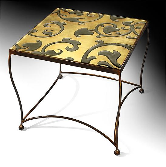 Tuscan Vine Side Table