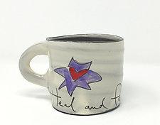 Heal and Feel Mug by Noelle VanHendrick and Eric Hendrick (Ceramic Mug)
