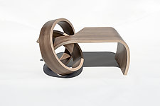 Mini Why Knot Table by Kino Guerin (Wood Coffee Table)